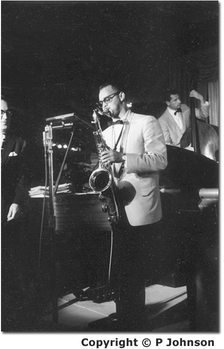 Plas Johnson and Benny Goodman