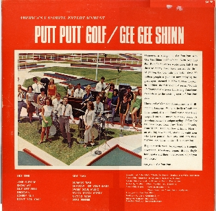 GG Shinn- The Putt Putt Album