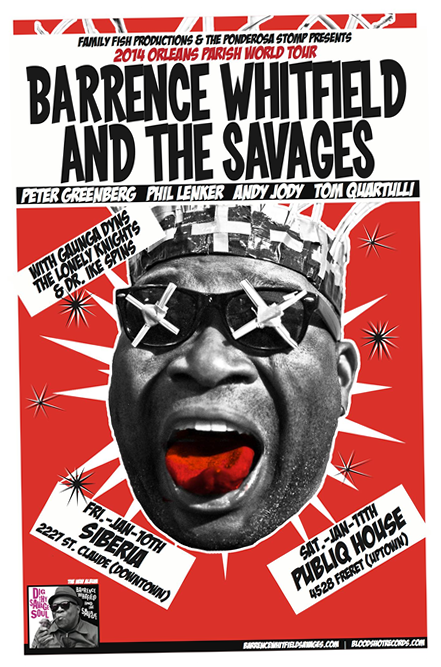 Flyer - Barrence Whitfield and the Savages
