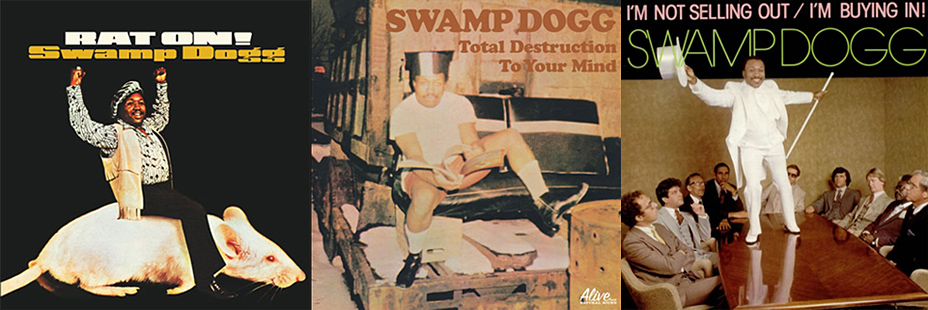 Swamp Dogg Album Covers
